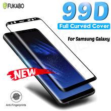 Volle Kleber Gebogenem Glas Für Samsung Galaxy S8 S9 Plus S20 Ultra Gehärtetem Glas Für Hinweis 9 10 Plus 20 ultra Screen Protector Film