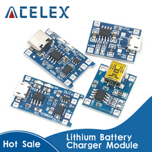 Module-Charging-Board Protection Lithium-Battery-Charger TP4056 18650 5V 1A with Dual-Functions