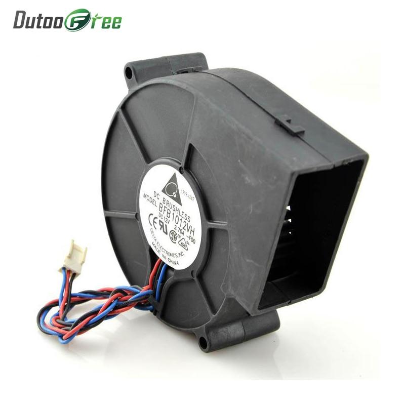 Turbo Fan 12Cm Dc 12v Brushless Blower Mute Centrifugal Exhaust