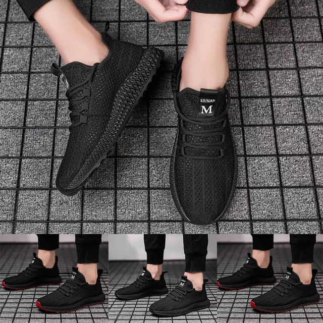 Men's Breathable Sneakers for Running