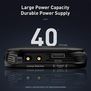 Image 5 - Baseus רכב קפיצת Starter החל מכשיר סוללה כוח בנק 800A Jumpstarter אוטומטי באסטר חירום בוסטרים רכב מטען לקפוץ להתחיל