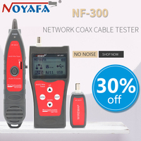 NOFAYA NF 300 Lan tester RJ45 LCD cable tester Network monitoring wire tracker without noise Anti Interference NF_300