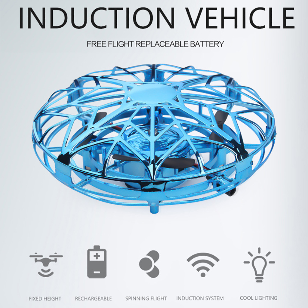 Hand-Controlled Flying Ball Interactive Infrared Induction Helicopter Flying Fairy Rc Helicopter Drone Visuo Drone 2019