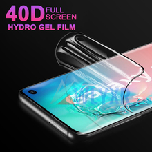 цена на 40D Soft Hydrogel Film For Samsung Galaxy A70 A50 A 10 30 20 60 80 2 J 4 6 Core Plus Screen Protector Full Cover Film Not Glass
