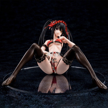 22CM Anime DATE A LIVE Tokisaki Kurumi  PVC  Figure Action Toys Anime Sexy Girl Figure Model Toys Collection Doll Gifts leviathan seven deadly sins sexy girl 13 pvc action figure collection model new in box
