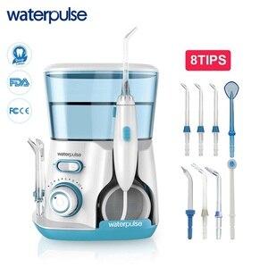Image 1 - Водный Пульс V300, 8 наконечников, 800 мл, ирригатор для полости рта, зубная нить для гигиены полости рта