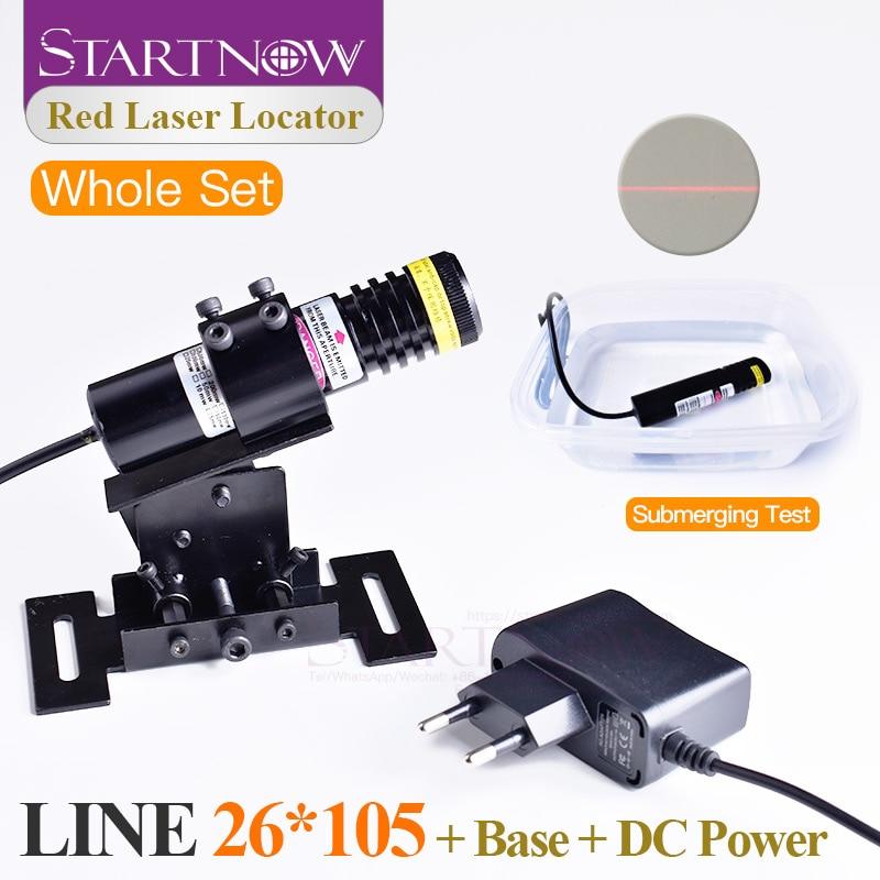 Set 26*105 Waterproof 660nm 200mw 5V Adjustable Laser Beam Module Locator Red Laser Line Positioner For Stone Cutting Machine