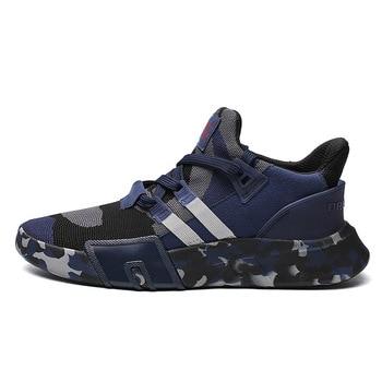 Zapatillas deportivas para hombre 2020, zapatillas transpirables súper ligeras, zapatillas de camuflaje para hombre, zapatillas deportivas de malla para caminar y trotar