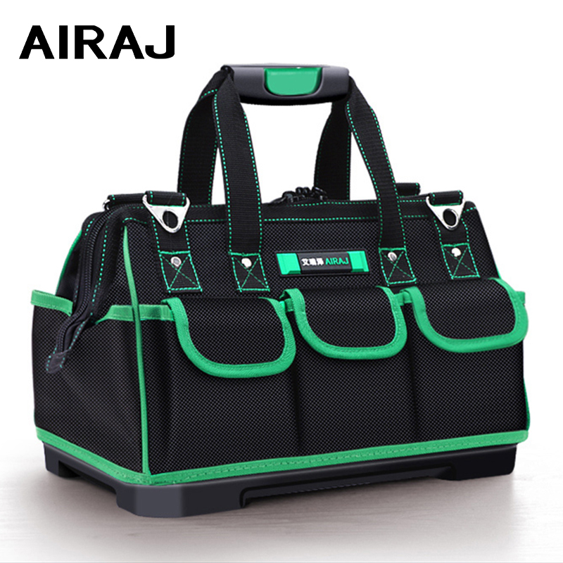 AIRAJ Heightening Tool Bag Waterproof And Wearresistant Anti-fall Rubber Bottom Tool Storage Bag For Harsh Environment Tool Base