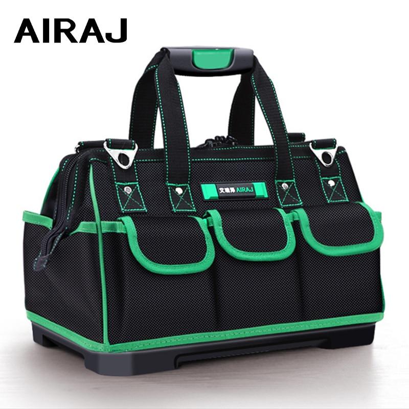 AIRAJ Heightening Tool Bag Waterproof And Wearresistant Anti-fall Rubber Bottom Tool Storage Bag For Harsh Environment Tool Base