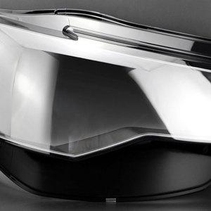 Image 3 - Koplampen Koplampen Glazen Masker Lamp Cover Transparante Shell Lamp Maskers Voor Audi A6L C7 Pa 2016 2018