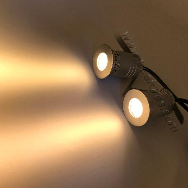 Honeycomb Grid Lamp IP67 1W 3W CREE LED Spotlight 12V 24V Grille Spot lighting IK10 CE