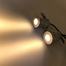 Petek ızgara lambası IP67 1W 3W CREE LED Spot 12V 24V ızgara Spot aydınlatma IK10 CE