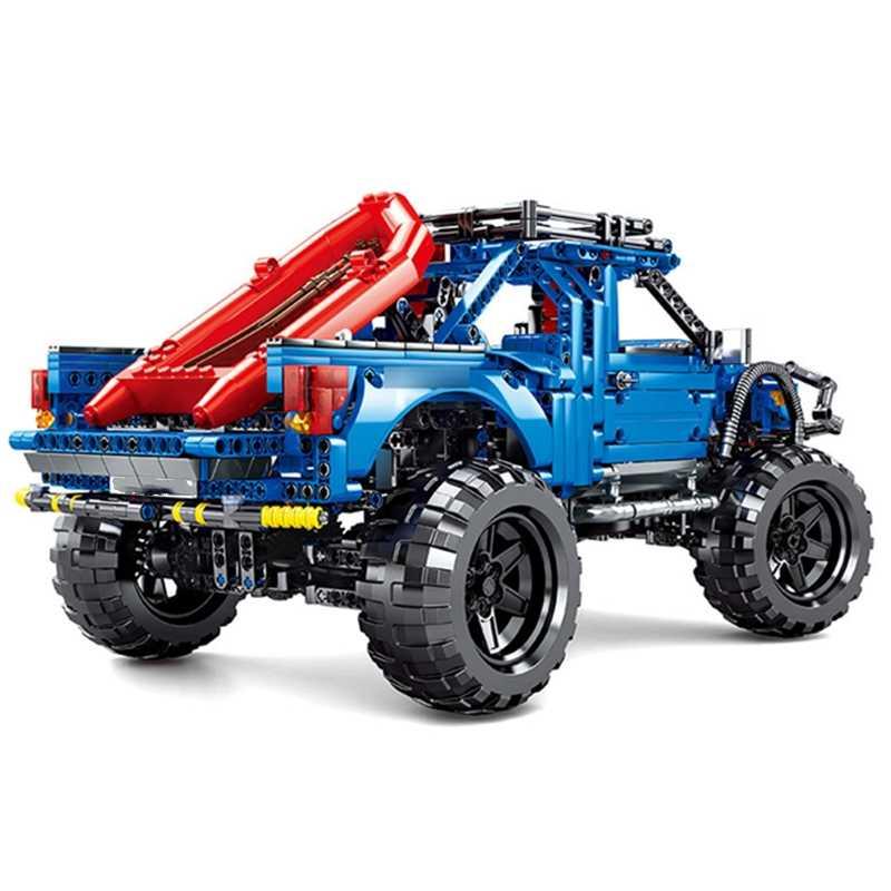 Nuovo Sembo Blocco RC MOTOR Classic Racing Ford F-150 Raptor Auto Pick-Up Truck Technic Città Blocchi di Costruzione di Modello Del Ragazzo Del Bambino regalo del Giocattolo