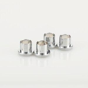 Image 4 - Hi End Brass Noise Stopper Rhodium Plated Copper RCA Plug Caps