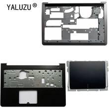 Yaluzu para dell inspiron 15-5000 5545 5547 5548 15m portátil palmrest superior caso/inferior inferior inferior capa/touchpad dp/n 0whc7t