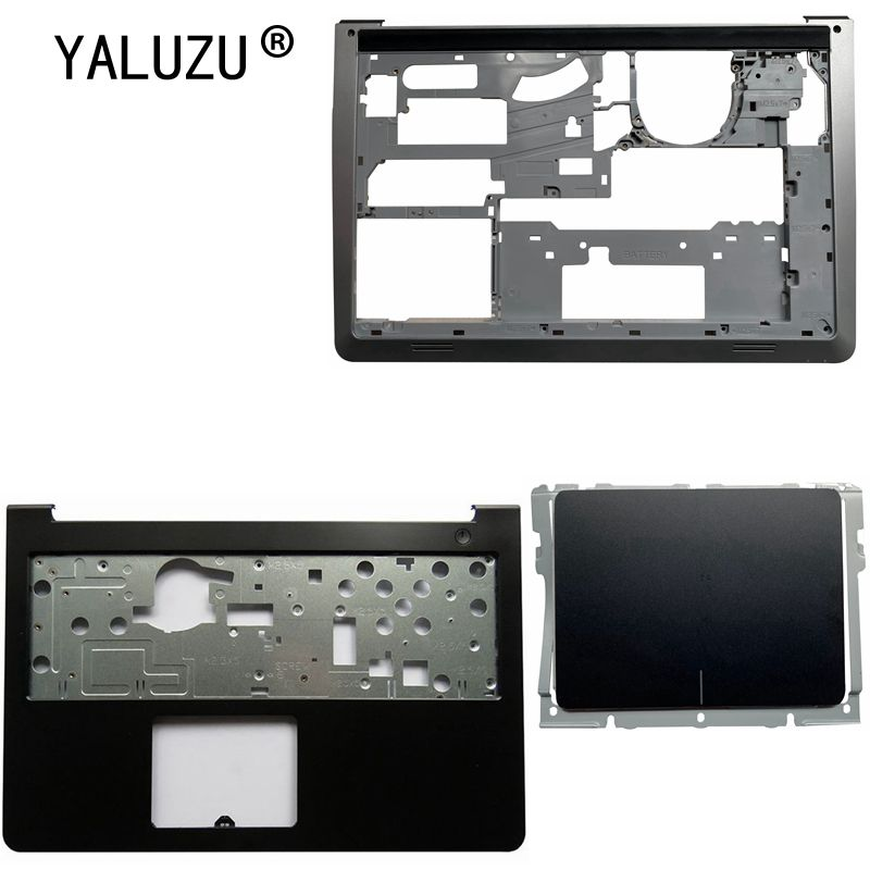 YALUZU For Dell <font><b>Inspiron</b></font> 15-5000 5545 <font><b>5547</b></font> 5548 15M Laptop Palmrest Upper case/Base Bottom Cover Lower Case/Touchpad DP/N 0WHC7T image