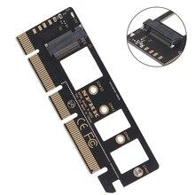 Adaptateur de carte PCIE NVMe m.2 ngff ssd à pci express 3.0x4x8x16