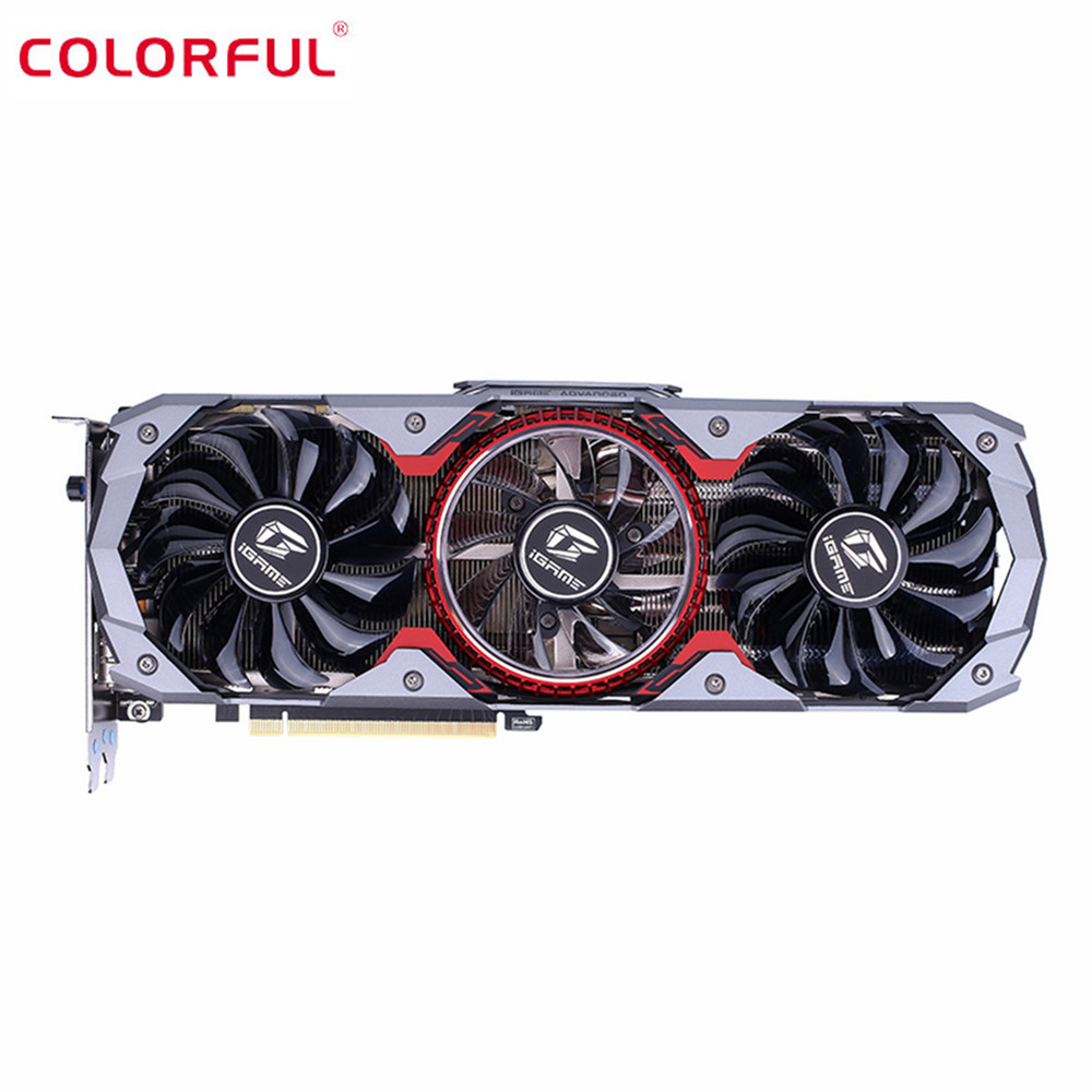 Colorful iGame GeForce RTX 2070 SUPER Advanced OC E-sports Gaming Graphics Card 8GB GDDR6 RGB Breathing Light Graphics Card