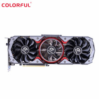 Colorful iGame GeForce RTX 2070 SUPER Advanced OC E sports Gaming Graphics Card 8GB GDDR6 RGB Breathing Light Graphics Card