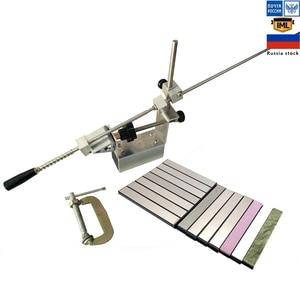 Image 1 - Afilador de cuchillos profesional de mayor grado, portátil, rotación de 360 grados, clip Apex edge EDGE KME system, 1 piedra de diamante