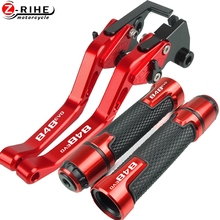 For DUCATI 848 EVO 848EVO 2007 2013 2008 2009 2010 2011 2012 Motorcycle Accessories Brake Clutch Levers And Handle Grips Parts