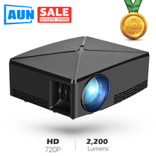 AUN C80 HD MINI Projector, 1280x720P, Video Beamer,3D Projector