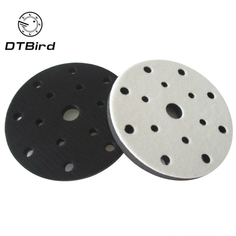 6 Inch(150mm) 15-Hole Soft Sponge Dust-free Interface Pad For 6