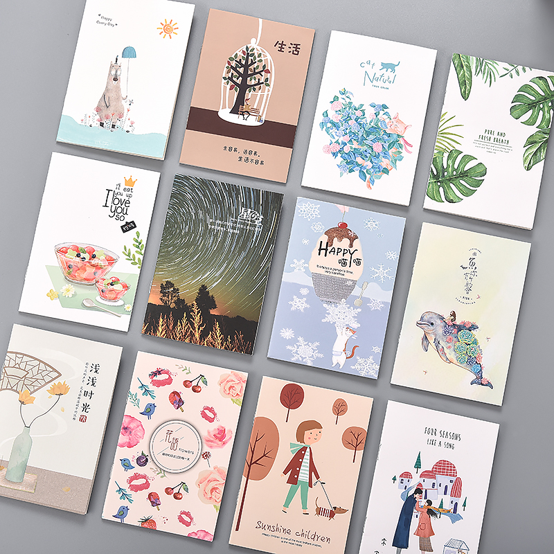 Cute Mini Notebook Cartoon Portable Hand Account Notepad Note Book Planner School Memo Pad Agenda Stationery Dropshipp Customize