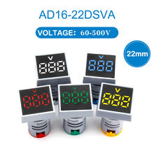 Вольтметр светодиодный цифровой индикатор напряжения 1 шт 22