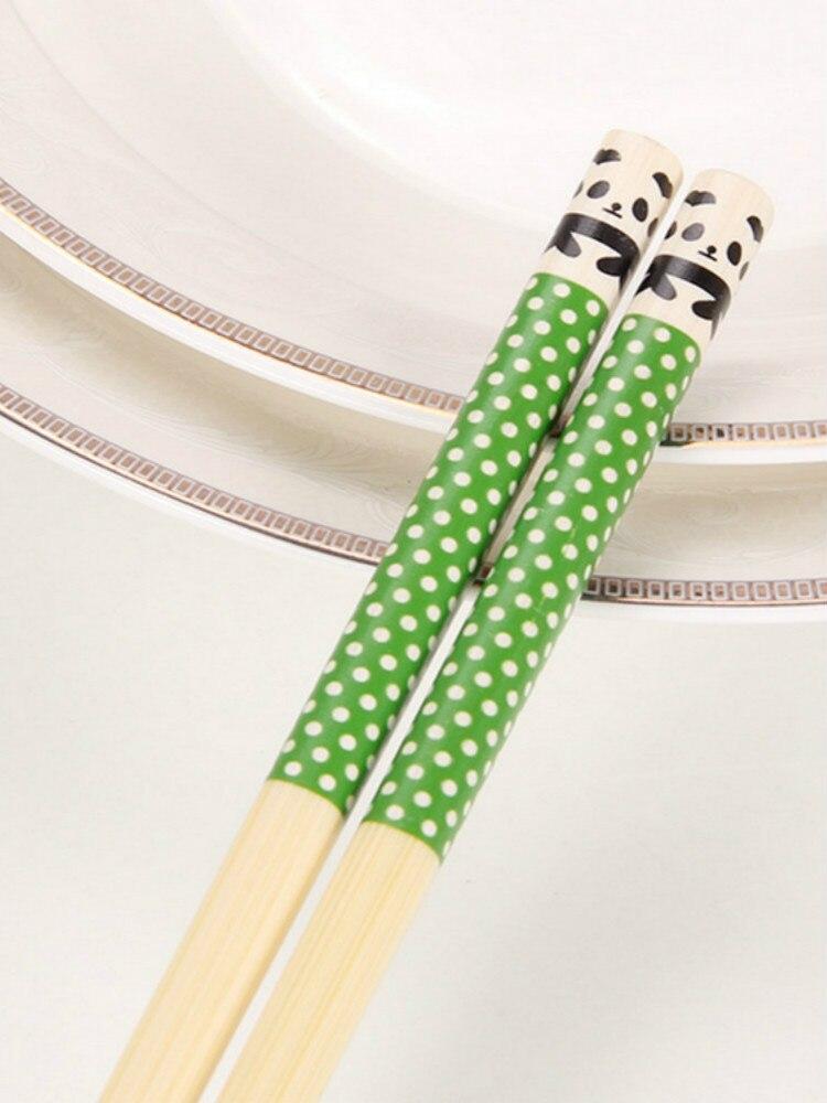 Палочки для еды из натурального дерева 5 шт
