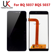 Lcd ekran BQ 5037 BQ5037 BQ 5037 BQS 5037 BQS 5037 Strike güç 4G LCD ekran dokunmatik ekran meclisi ile