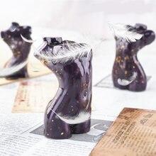 Человеческого тела Силиконовые свечи формы Женский парфюм изготовление