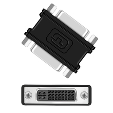 DVI Miniature Connector DVI I (24+5) Female to Female Mini Gender Changer for DVI Cable Extension