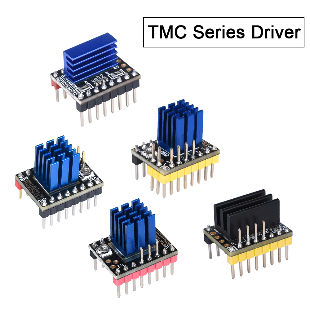 5PCS TMC2130 V3.0 TMC2208 TMC2209 UART TMC5160 TMC5161 Stepper Motor Driver 3D Printer Parts For SKR V1.3 PRO SKR V1.4 Ramps 1.4