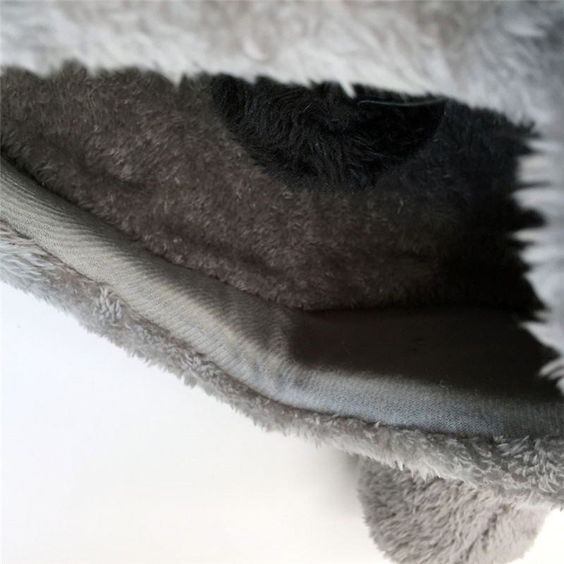 2019 New Gray Waterproof Mouse Form Bed Small Cats Dogs Cave Bed Removable Kisses Bottom Cat House Mouse For Cats House in Cat Beds Mats from Home Garden