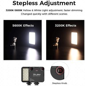 Image 5 - Ulanzi 96 DSLR LED 비디오 빛 카메라 사진 스튜디오 조명 뜨거운 신발 LED 블로그 채우기 빛 램프 스마트 폰 DSLR SLR 카메라