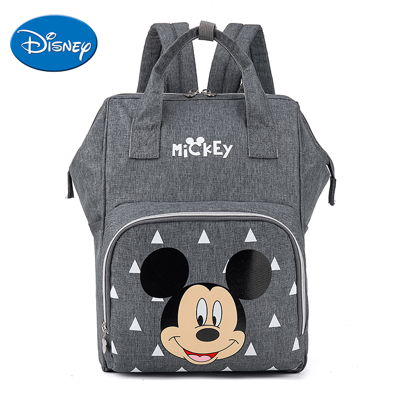 Disney Diaper Bags Backpack Large Capacity Nursing Maternity Nappy Bags Women Travel Backpack Baby Bag For Mum Girl Boy