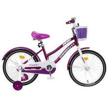 Велосипед 18' Graffiti Flower, цвет сиреневый/белый