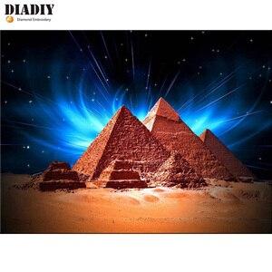 Алмазная вышивка diady, волшебные пирамиды, египетские 5D алмазные картины, стразы, мозаика, египетское искусство, декор, наклейки