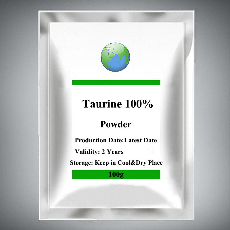 Pure Taurine Powder Amino Acid Support Heart Nervous System Brain Memory Protect Eyesight Improve Vision