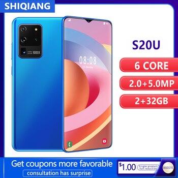 SOYES S20U Mobile Phone Android Smart Unlock Face ID  22GB+32GB 6.7inch Smartphone 4800mAh 2 Sim Card - discount item  56% OFF Mobile Phones