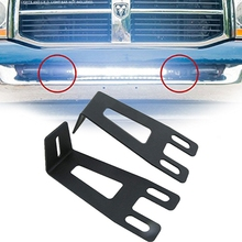 20 дюймов(от 19 до 21 дюймов) прямой светодиодный светильник бампер углубление-скрытый кронштейн | совместим с Dodge Ram 2003- модель 2