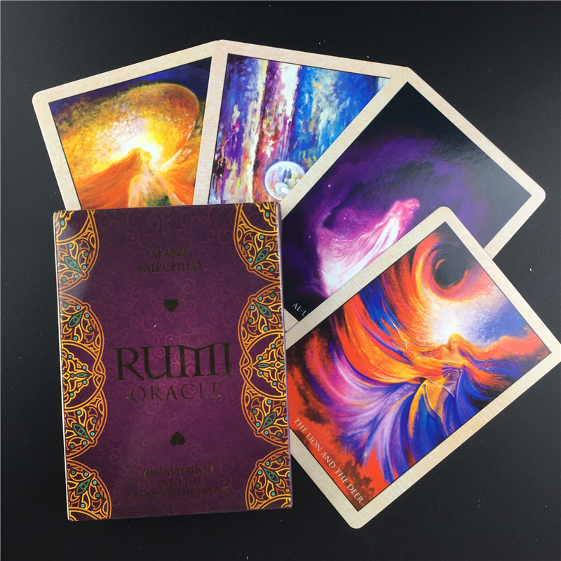 Oracle Rumi Oracle Cards Tarot L Oracle Card Board Deck Games Palying Cards For Party Game