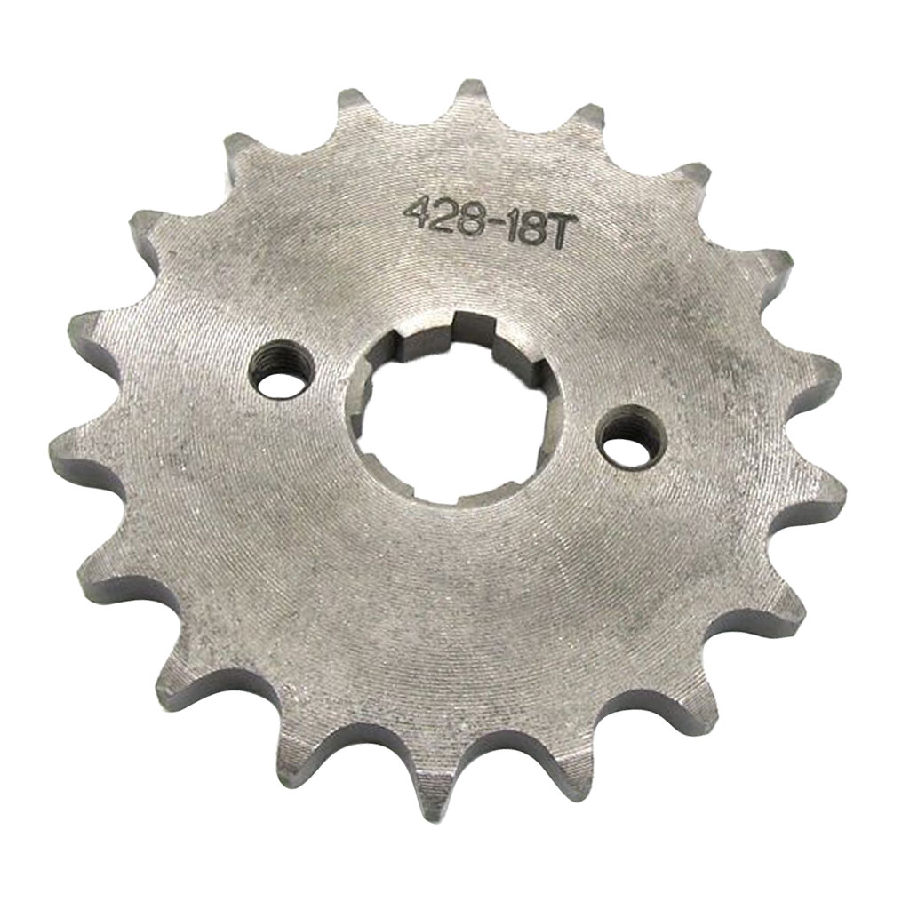428 18T 20mm Drive Front Counter Sprocket ATV Quad  Dirt Bike