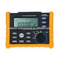 Analog Bars Display Digital Earth Resistance Tester MS2302