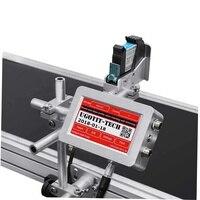 과자 패킹 부대 마분지 봉투를 위한 자동적인 배치 만기일 인쇄기