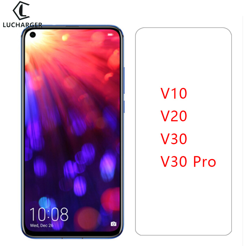 Vidro de proteção em honra vista v10 v20 v30 pro vidro temperado para huawei honorv10 honorv20 v 10 20 30 view20 protetor de tela 9h