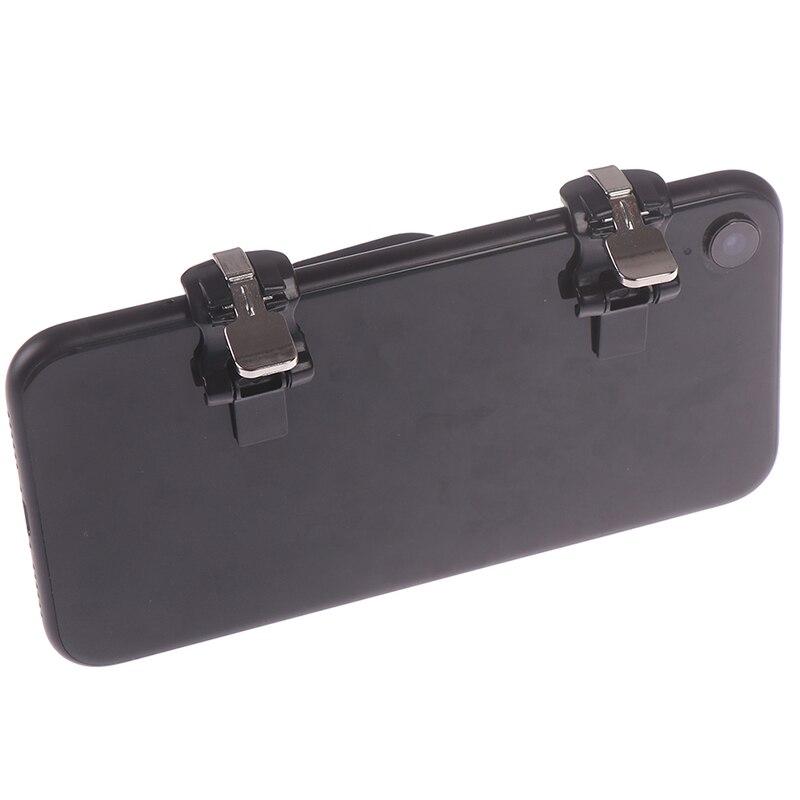 1 пара черный мобильный телефон игровой триггер огонь Кнопка шутер контроллер