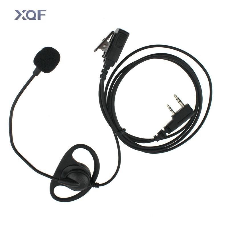 D Type Tactical Headset Voice-Control With Mic Intercom Headphone For Baofeng UV-5R UV-82 BF-888S Kenwood TK-3107 TK-2207